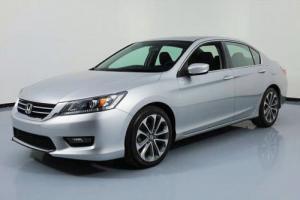 2014 Honda Accord SPORT SEDAN AUTOMATIC REAR CAM
