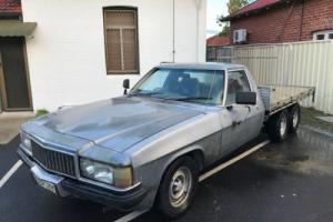 """1983 Holden WB V8 2 tonner 6 WHEELER - T400 9"""" A/C, P/S, GTS options suit HQ HZ"""