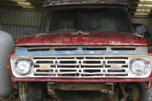 FORD 1962 F100 RHD AMBO WITH SPARE CAB PICKUP TRUCK 1961 1963 1964 1965 1966