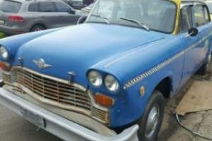 checker  taxi Photo
