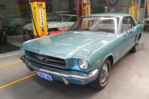 1964 1/2 FORD MUSTANG  RARE 260 V8 EXCELLENT CONDITION !! F CODE Photo