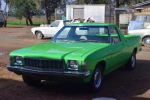 1976 HX Holden Kingswood Ute