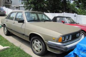 1983 Audi 5000 Turbo Gas for Sale