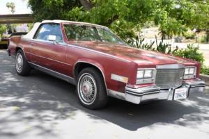 1984 Cadillac Eldorado Photo