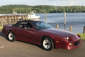 1989 Chevrolet Camaro Convertible by ASC Mclaren Photo