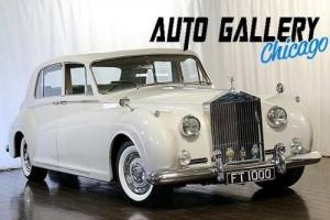 1962 Rolls-Royce Phantom V James Young Right Hand Drive Limousine