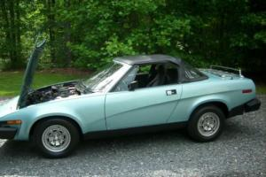 1980 Triumph tr7 conv Photo