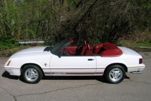 1984 Ford Mustang Anniversary Model