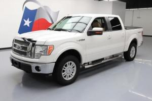2011 Ford F-150 LARIAT CREW 5.0 4X4 LEATHER REAR CAM