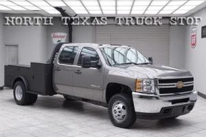 2013 Chevrolet Other Pickups W/T Vortec 4x4 Dually Utility Bed Crew Cab