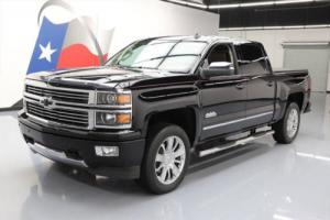 2014 Chevrolet Silverado 1500 SILVERADO HIGH COUNTRY CREW 4X4 6.2L NAV