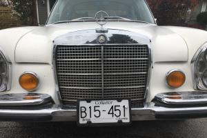 1971 Mercedes-Benz 300-Series 6.3 V8 Beautiful White Original Collector Classic | eBay Photo