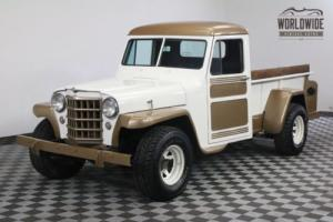 1950 Jeep WILLY'S RARE NEW FLATHEAD 4! 4X4 Photo