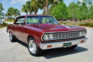 1964 Chevrolet Malibu SS Hardtop Custom Build Real SS! Air Conditioning!
