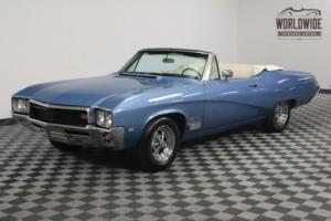 1968 Buick Skylark RARE GS CONVERTIBLE CONSOLE CAR Photo
