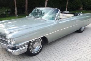 1963 Cadillac DeVille 1963 Cadillac Deville Convertible Photo