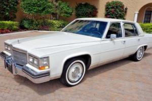 1984 Cadillac Fleetwood Fleetwood Brougham D'Elegance