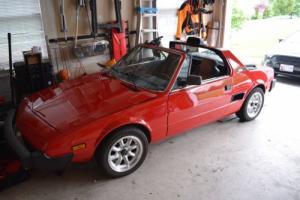 1986 Fiat X-1/9