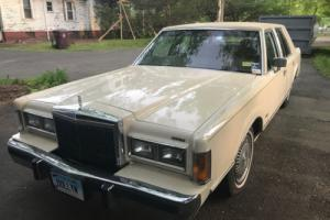 1989 Lincoln Town Car Photo
