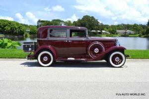 1933 Nash Big Six 1933 Nash Big Six Series 1120 Sedan