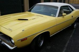 1973 Plymouth 'Cuda -- Photo