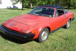 1980 Triumph TR7 Photo