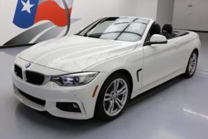 2014 BMW 4-Series 428I CONVERTIBLE M SPORT HTD SEATS NAV