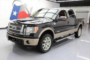 2012 Ford F-150 KING RANCH CREW 4X4 ECOBOOST NAV