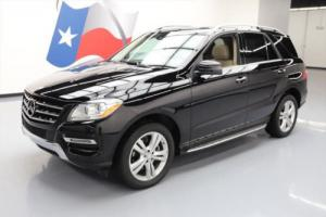 2014 Mercedes-Benz M-Class ML350 P1 SUNROOF NAV HTD SEATS