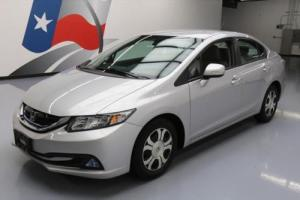 2013 Honda Civic HYBRID-L HTD LEATHER REAR CAM