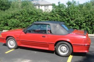 1987 Ford Mustang GT Photo