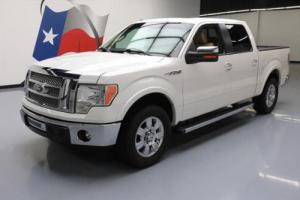 2011 Ford F-150 LARIAT CREW ECOBOOST LEATHER SUNROOF