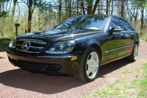 2003 Mercedes-Benz S-Class S55 S 55 600