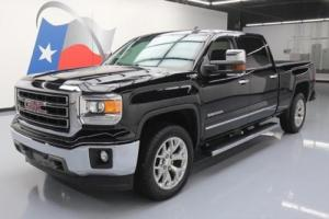 2015 GMC Sierra 1500 SIERRA SLT CREW 4X4 LEATHER NAV REAR CAM