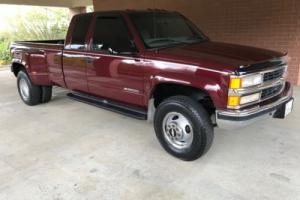 1998 Chevrolet C/K Pickup 3500 1997 Chevrolet DUTY Silverado LS CREW CAB 4X4 Photo