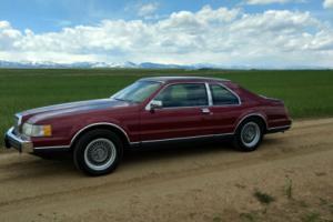 1988 Lincoln Mark Series LSC
