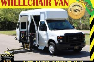 2012 Ford E-Series Van Super Handicap Wheelchair Van