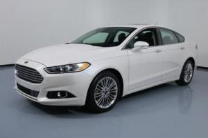 2014 Ford Fusion SE ECOBOOST SUNROOF NAV LEATHER