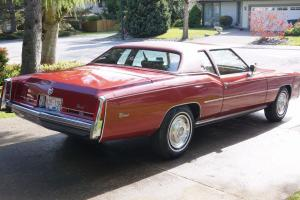 1975 Cadillac Eldorado 2 door coupe