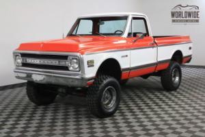 1970 Chevrolet K10 RESTORED. RARE SHORT BOX 4X4. MUST SEE!