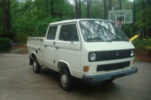 1987 Volkswagen Bus/Vanagon Doka Syncro turbo diesel 4x4 crew cab Photo