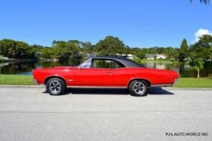 1966 Pontiac GTO WS code 389 V8 Tri Power 4-speed Photo