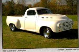 1950 Studebaker 2R custom pickup truck