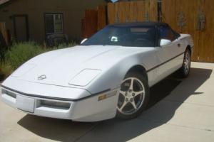 1989 Chevrolet Corvette Convertible Photo
