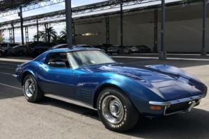 1972 Chevrolet Corvette STINGRAY CORETTE CHROME BUMPERS RARE LAST YEAR