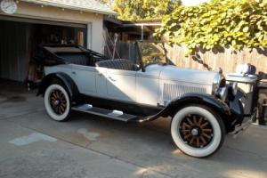 1924 Chrysler B 70