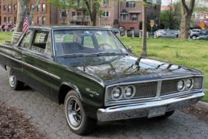 1966 Dodge Coronet Post Car Photo