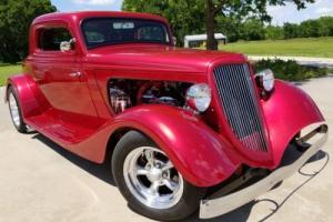 1934 Ford Three Window Coupe Street Rod
