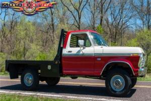 1976 Ford F-250 Flat Bed