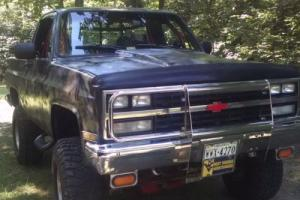 1989 GMC Jimmy Converted to Shortbed Pickup